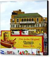 Coney Island Memories 9 Canvas Print by Madeline Ellis