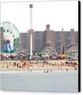 Coney Island, New York Canvas Print