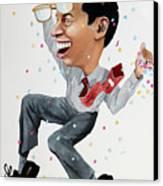 Confetti Man Canvas Print
