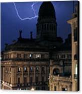 Congeso Lightning 2 Canvas Print
