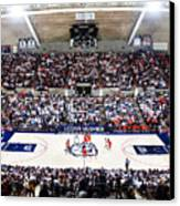 Connecticut Huskies Harry A. Gampel Pavilion Canvas Print by Replay Photos