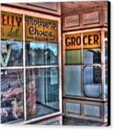 Connelly Bros Store. Canvas Print by Ian  Ramsay