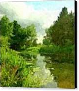 Constable Country Canvas Print by Wu Wei