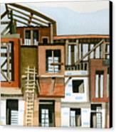 Construction 5 Canvas Print by Ashley Lathe