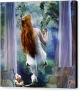 Contemplation Canvas Print by Mary Hood