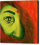 Contrast Canvas Print by Rashmi Rao