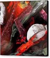 Cooking Gazpacho Canvas Print