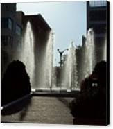 Cool In St. Louis Canvas Print by Denise Workheiser
