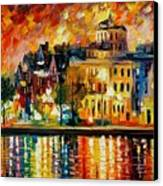 Copenhagen Original Oil Painting  Canvas Print