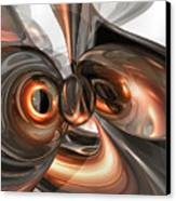 Copper Dreams Abstract Canvas Print