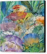 Coral Fantasy Canvas Print