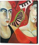 Corazon Pesado Canvas Print