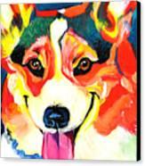 Corgi - Chance Canvas Print