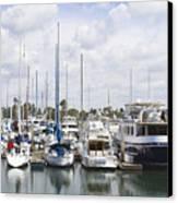 Coronado Boats II Canvas Print