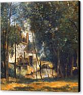 Corot - The Mill Canvas Print