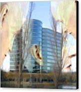 Corporate Cloning Canvas Print by Kurt Van Wagner