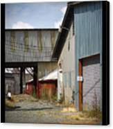 Corrugated Canvas Print