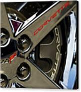 Corvette Spokes II Canvas Print by Ricky Barnard