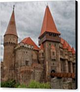 Corvin's Castle Canvas Print by Yair Karelic