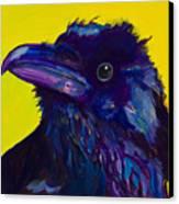 Corvus Canvas Print