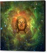 Cosmic Buddha Canvas Print