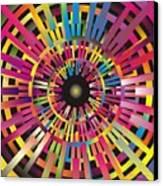 Cosmic Calibrator Canvas Print