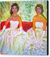 Cotillion Canvas Print by Patricia Taylor