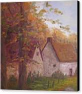 Cottage On The Moors Canvas Print