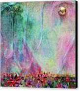 Cotton Candy  Canvas Print by Shawna Scarpitti