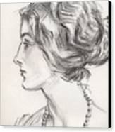 Countess Margaretta Canvas Print