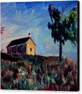 Country School House Canvas Print