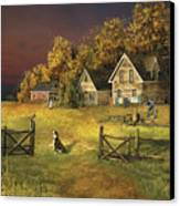 Countryliving Canvas Print