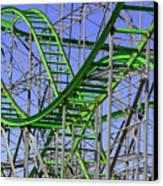 County Fair Thrill Ride Canvas Print