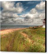 Covehead Lighthouse Canvas Print