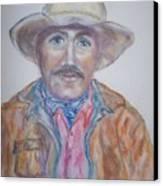 Cowboy Jim Canvas Print