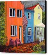 Cozy Street Canvas Print