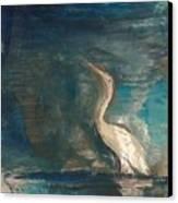 Crane Canvas Print by Gregory Dallum