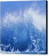 Crashing On Shore Canvas Print by Vince Cavataio - Printscapes