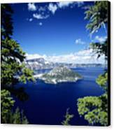 Crater Lake Canvas Print by Allan Seiden - Printscapes