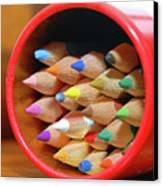 Crayons Canvas Print by Graham Taylor