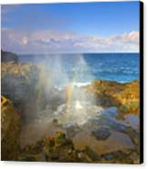 Creating Miracles Canvas Print by Mike  Dawson