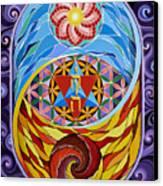 Creation Canvas Print by Galina Bachmanova
