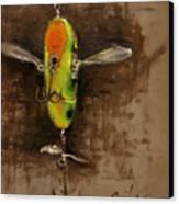 Creeper Muskie Lure Canvas Print