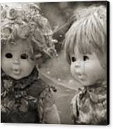 Creepy Dolls Canvas Print by Ankeeta Bansal