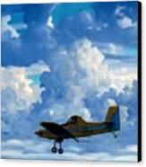 Crop Duster Canvas Print