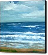 Cross Beach Canvas Print