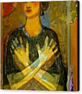 Cross My Heart Canvas Print