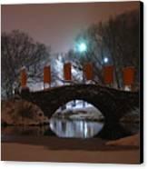 Crossing Gapstow Bridge Canvas Print