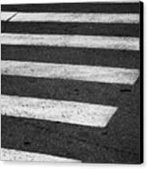 Crosswalk Canvas Print by Gabriela Insuratelu