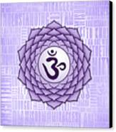 Crown Chakra - Awareness Canvas Print